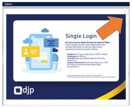 Single login djp online