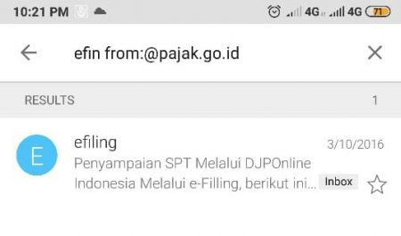 efin from pajak.go.id