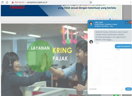 live chat pajak go id